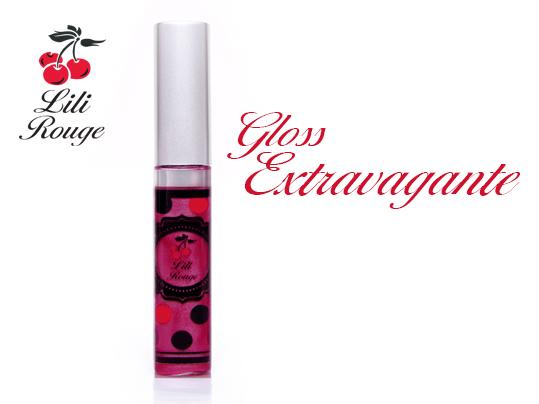 Gloss longue tenue rose foncé lili rouge gloss extravagante