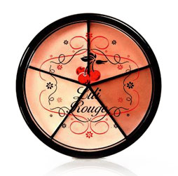 Roulette Sensationnelle de Lili Rouge : la palette idéale pour le camouflage et le contouring!