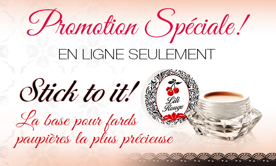 Promotion stick to it maquillage fards paupières
