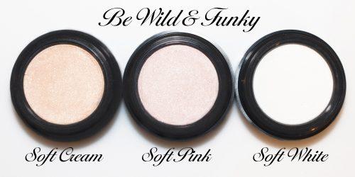 Be Wild & Funky Soft Cream, Soft Pink, Soft White