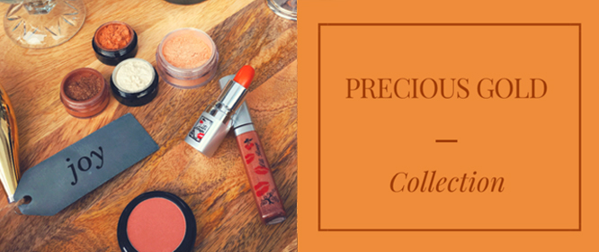 Collection maquillage Precious Gold