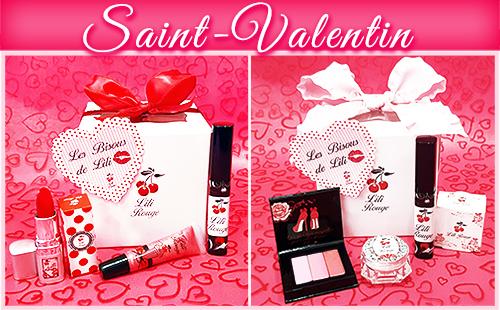 Coffrets cadeau pour la Saint-Valentin